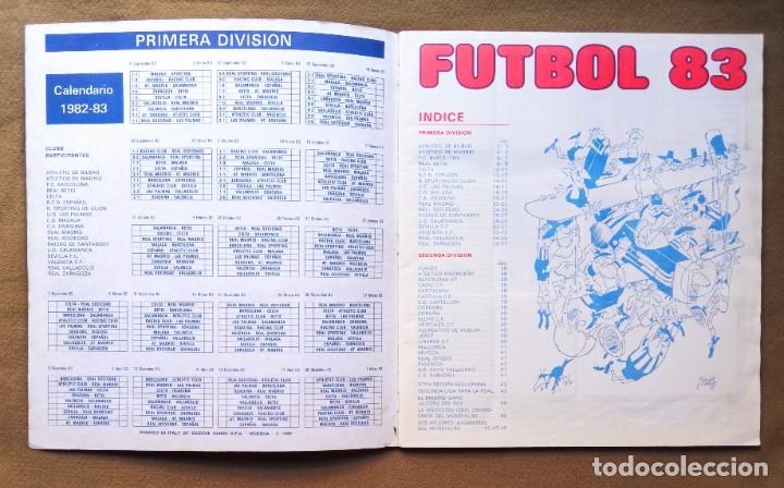 Coleccionismo Álbumes: ÁLBUM DE CROMOS FUTBOL 83 PANINI LIGA - Foto 2 - 287846273