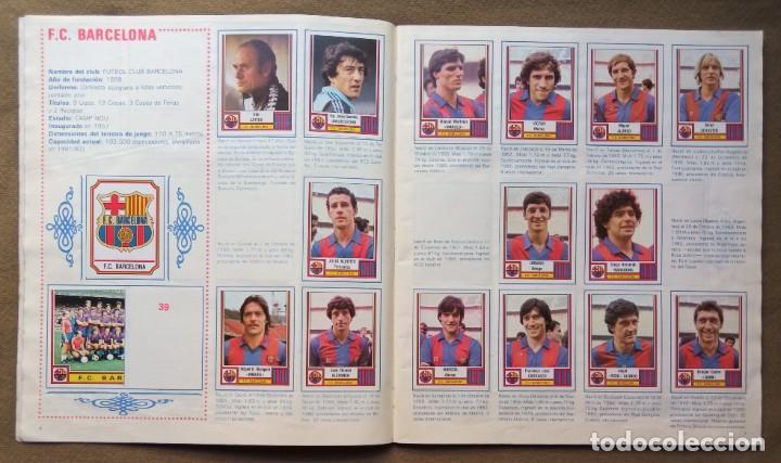 Coleccionismo Álbumes: ÁLBUM DE CROMOS FUTBOL 83 PANINI LIGA - Foto 5 - 287846273