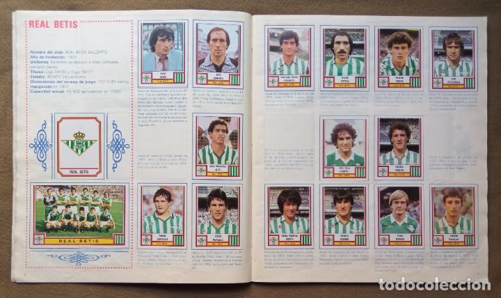 Coleccionismo Álbumes: ÁLBUM DE CROMOS FUTBOL 83 PANINI LIGA - Foto 6 - 287846273