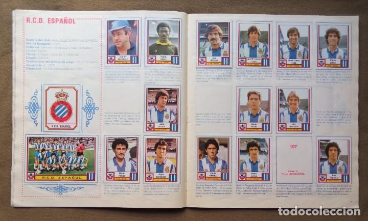 Coleccionismo Álbumes: ÁLBUM DE CROMOS FUTBOL 83 PANINI LIGA - Foto 8 - 287846273