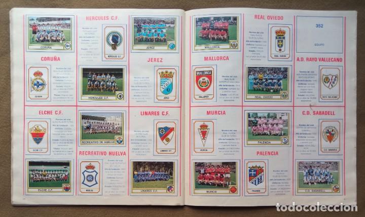 Coleccionismo Álbumes: ÁLBUM DE CROMOS FUTBOL 83 PANINI LIGA - Foto 22 - 287846273