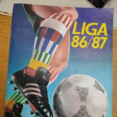 Coleccionismo Álbumes: ALBUM CROMOS FUTBOL LIGA 86-87. Lote 288219858