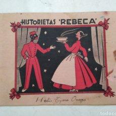 Coleccionismo Álbumes: HISTORIETAS REBECA-ANTONIO BALLESTER ( ÁLBUM DE CROMOS-ESPECIAS ). Lote 288409453