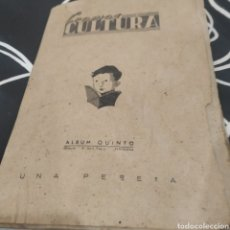 Coleccionismo Álbumes: ÁLBUM CROMOS CULTURA ÁLBUM QUINTO. Lote 288538143