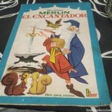 Coleccionismo Álbumes: ÁLBUM DE CROMOS MERLIN EL ENCANTADOR FHER. Lote 288543288