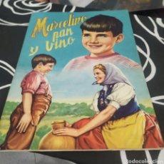 Coleccionismo Álbumes: ÁLBUM DE CROMOS MARCELINO PAN Y VINO. Lote 288545268