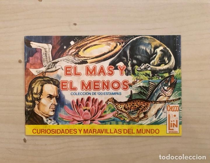 EL MAS Y EL MENOS CURIOSIDADES Y MARAVILLAS DEL MUNDO, ALBUM VACIO, AÑO 1947,(EDITORIAL RUIZ ROMERO) (Coleccionismo - Cromos y Álbumes - Álbumes Incompletos)