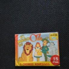 Coleccionismo Álbumes: SOBRE DE CROMOS DE EL MAGO DE OZ. Lote 290102028