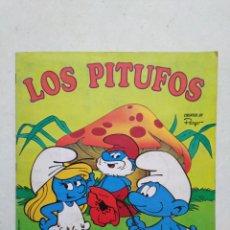 Coleccionismo Álbumes: ÁLBUM INCOMPLETO LOS PITUFOS ( PANINI, AÑO 1982 ) FALTAN 16 CROMOS. Lote 294372333