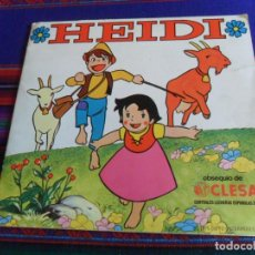 Coleccionismo Álbumes: HEIDI INCOMPLETO. CLESA FHER 1975. BUEN ESTADO. FOTOS DE TODAS LAS PÁGINAS.. Lote 294373203