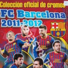 Coleccionismo Álbumes: ANTIGUO ALBUM DE CROMOS DEL F.C. BARCELONA - 2011 - 2012 - . INCOMPLETO - TIENE SOLO 20 CROMOS -. Lote 295724468