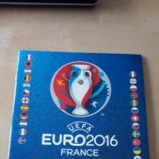 Coleccionismo Álbumes: ÁLBUM VACÍO PLANCHA NUEVO EURO 2016 FRANCE FRANCIA. Lote 295812298