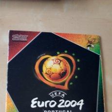 Coleccionismo Álbumes: ÁLBUM EURO 2004 PANINI INCOMPLETO. Lote 295815283