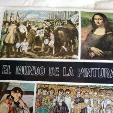 Coleccionismo Álbumes: ALBUM EL MUNDO DE LA PINTURA DE DIFUSORA DE CULTURA FALTAN 51 AÑO 1967. Lote 296806193