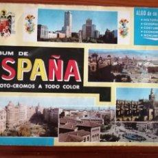 Coleccionismo Álbumes: ALBUM DE ESPAÑA INCOMPLETO 1967- TODAS LAS FOTOS EN EL INTERIOR. Lote 296806398
