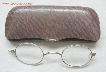 GAFAS DE EPOCA (Antigüedades - Técnicas - Instrumentos Ópticos - Gafas Antiguas)