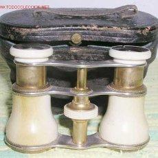 Antigüedades: BINOCULARES ANTIGUOS DE TEATRO. Lote 7194327