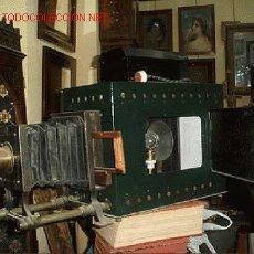 Antigüedades: LINTERNA MÁGICA. Lote 27034485