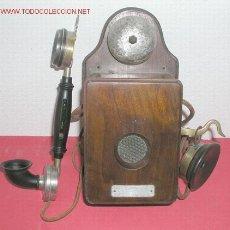 Teléfonos: TELEFONO DE PARED C1920. Lote 12313844