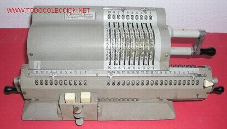 CALCULADORA ORIGINAL ODHNER (Antigüedades - Técnicas - Aparatos de Cálculo - Calculadoras Antiguas)
