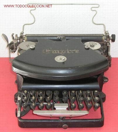 MAQUINA DE ESCRIBIR EMPIRE (Antigüedades - Técnicas - Máquinas de Escribir Antiguas - Otras)