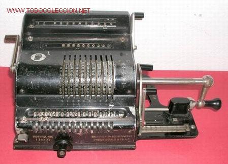 CALCULADORA BRUNSVIGA GRANDE (Antigüedades - Técnicas - Aparatos de Cálculo - Calculadoras Antiguas)