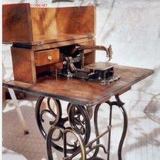 Antiquités: MAQUINA DE COSER WEELER WILSON. Lote 25732298
