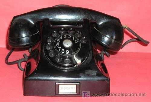 TELEFONO DE SOBREMESA ERICSSON (Antigüedades - Técnicas - Teléfonos Antiguos)
