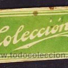 Antigüedades: HOJA DE AFEITAR COLECCION (ESPAÑOLA) (DEFECTUOSA). Lote 3608677