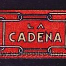 Antigüedades: HOJA DE AFEITAR CADENA (ESPAÑOLA). Lote 3608726