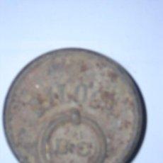 Antigüedades: ANTIGUA PESA DE 2 KILOS. Lote 26656699