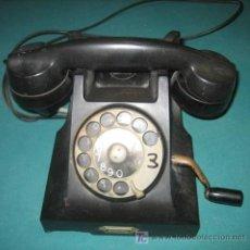 Teléfonos: TELÉFONO NEGRO ERICSON. Lote 24683518