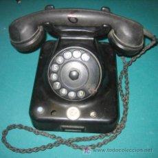 Teléfonos: TELÉFONO NEGRO . Lote 24536257