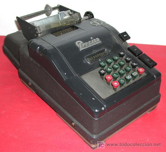 CALCULADORA PRECISA (Antigüedades - Técnicas - Aparatos de Cálculo - Calculadoras Antiguas)