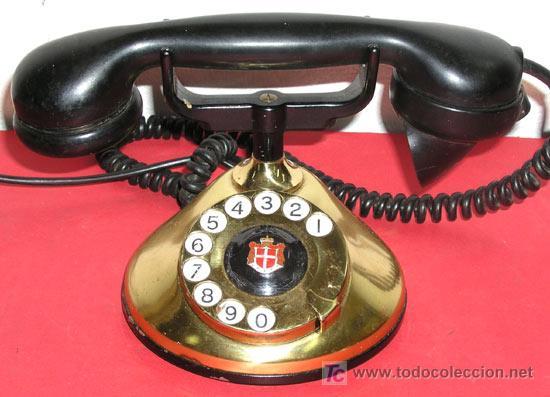 TELEFONO ANTIGUO DE SOBREMESA (Antigüedades - Técnicas - Teléfonos Antiguos)
