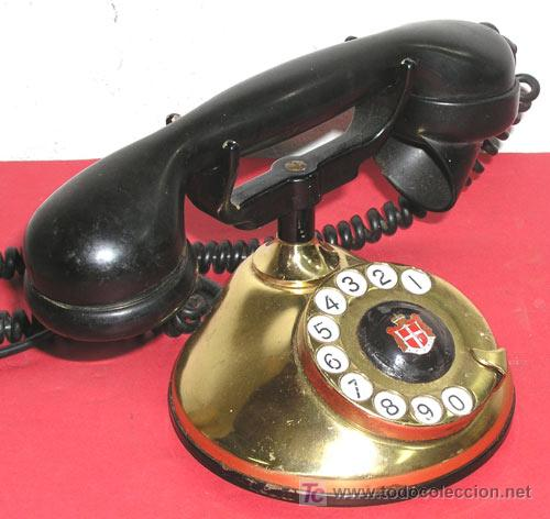 Teléfonos: TELEFONO ANTIGUO DE SOBREMESA - Foto 2 - 12313821