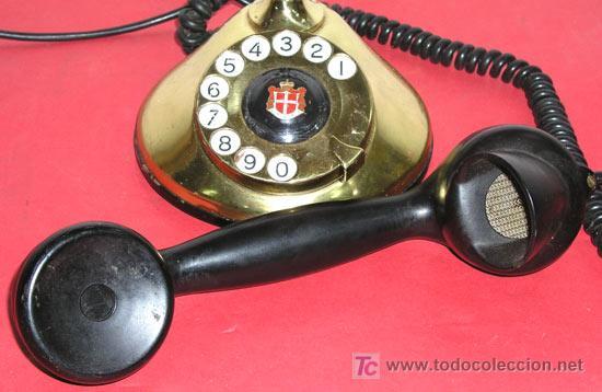 Teléfonos: TELEFONO ANTIGUO DE SOBREMESA - Foto 3 - 12313821