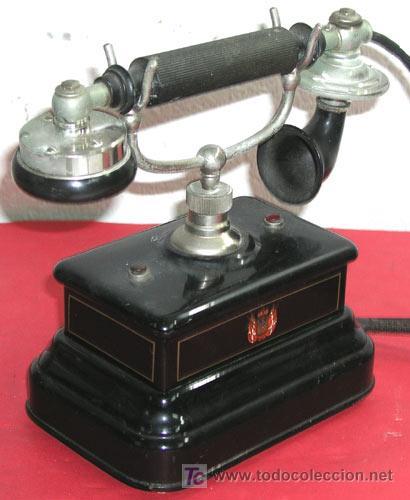 Teléfonos: TELEFONO ANTIGUO DE CONSOLA - Foto 2 - 12313805