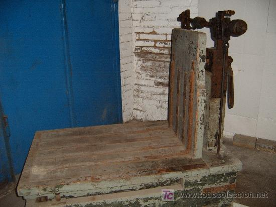 Antigüedades: ANTIGUA BASCULA DE ALMACEN - ENVIO GRATIS A CATALUÑA - Foto 3 - 27464309