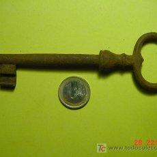 Antigüedades: 4318 EXCELENTE LLAVE HIERRO FORJADO 70 GRAMOS - 14 CENTIMETROS-MAS EN COSAS&CURIOSAS. Lote 10111610