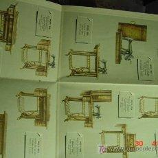 Antigüedades: 4327 ALFA MAQUINAS DE COSER EIBAR CATALOGO CON FOTOS DE MODELOS AÑOS 1940-COSAS&CURIOSAS. Lote 13955269