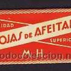 Antigüedades: HOJA DE AFEITAR HOJAS DE AFEITAR (ESPAÑOLA). Lote 4040260