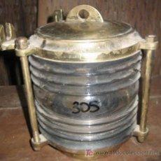 Antigüedades: LÁMPARA DE BARCO. Lote 24166922
