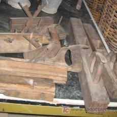 Antigüedades: LOTE DE 8 PIEZAS DE CARPINTERÍA, ALGUNA MARCADA FRANCISCO AUR, BALMES 22, VALENCIA. Lote 11012209
