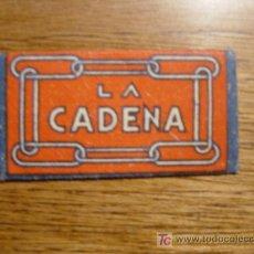 Antigüedades: HOJA DE AFEITAR LA CADENA. Lote 4707264