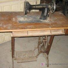 Antigüedades: MÁQUINA DE COSER SIGMA. Lote 26608597