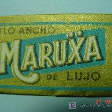 Antigüedades: 6084 MARUXA - MALAGA - HOJA DE AFEITAR - SIN USAR - MAS EN MI TIENDA TC COSAS&CURIOSAS. Lote 30915539