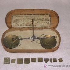Antiquitäten - CAJA BALANZA PESA MONENEDAS,MONEDERO - 16384493