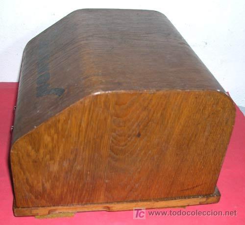 Antigüedades: MAQUINA DE ESCRIBIR MIGNON Nº 4 CON ESTUCHE DE MADERA - Foto 15 - 12388855