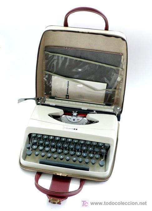 UNDERWOOD 18 - MAQUINA DE ESCRIBIR PORTATIL- AÑOS 70 (Antigüedades - Técnicas - Máquinas de Escribir Antiguas - Underwood)